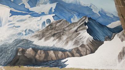 Mountain Backdrop 52'x24'