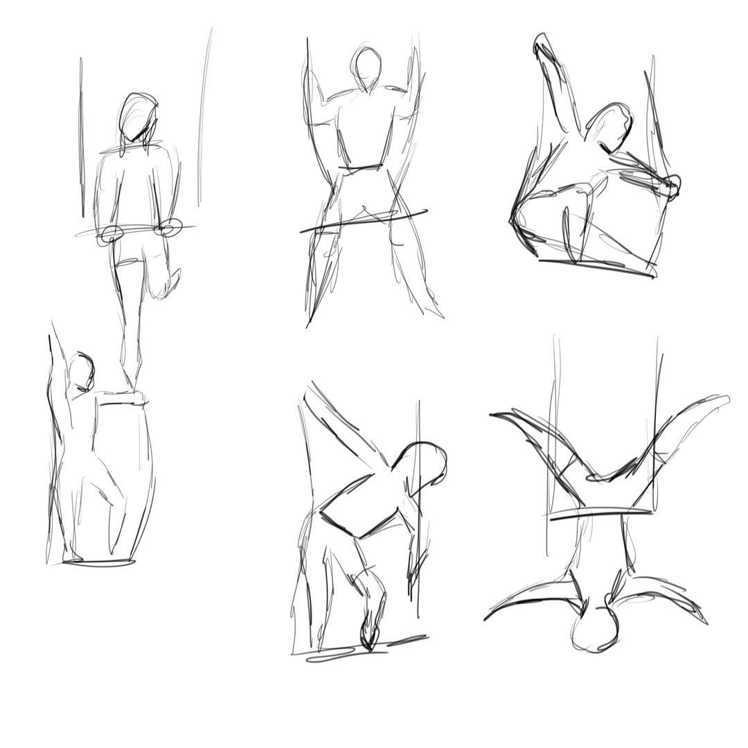 30 sec poses - Cirque School LA class