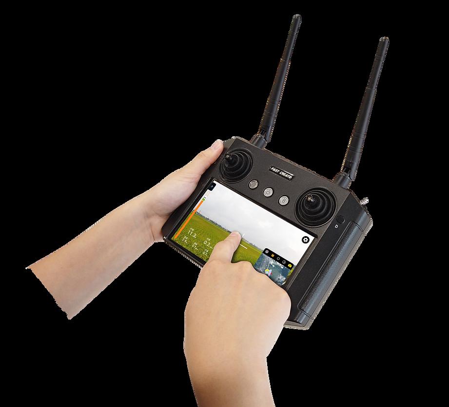 速創科技植保機 Super S 5,超大螢幕地面站,液晶螢幕遙控器,無人機遙控器,無人機飛行控制地面站