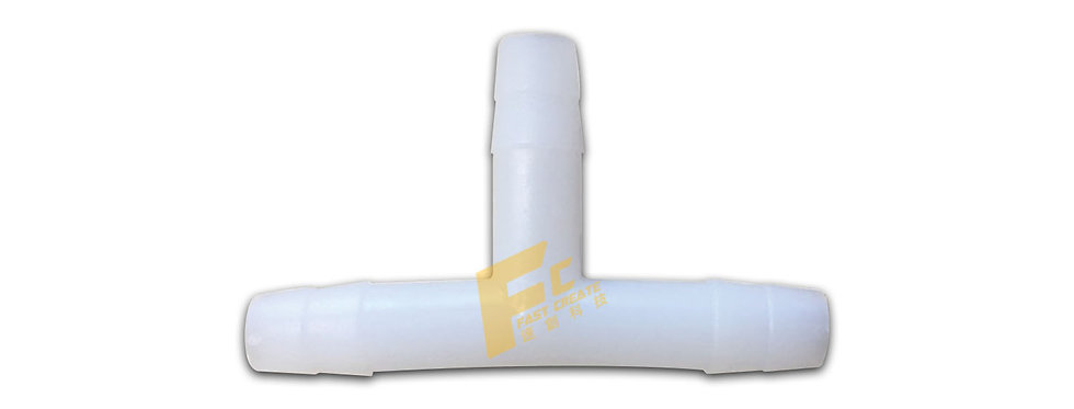 FC4082等徑三通(8mmT型)-塑膠白色