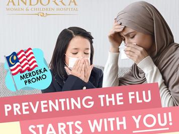 ANDORRA Influenza Vaccine Promo