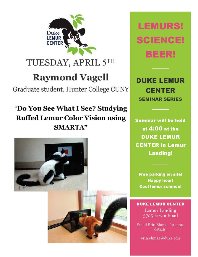Lemurs! Science! Beer!