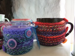 Hand Knitted Warmers