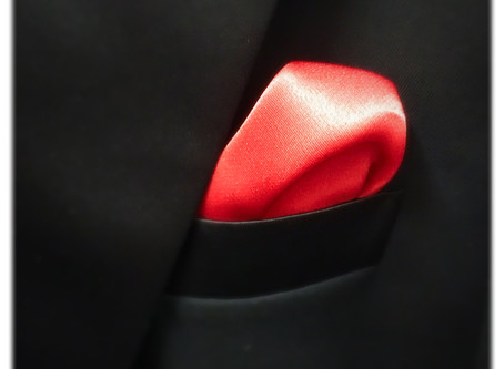 Pocket Square or Hanky -Should you use it? -Yes, but only in one specific way!