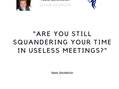 Stop Wasting Your Time In Meetings