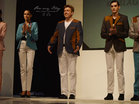 Designer Niels Strohkirch participates in 2014 Malaysia Fashion Week