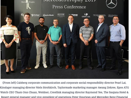 MercedesTrophy returns for 29th year in Malaysia - Kinslager a proud partner