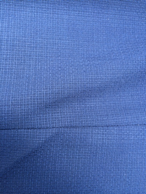 That is the clean structure of a non used wool suit