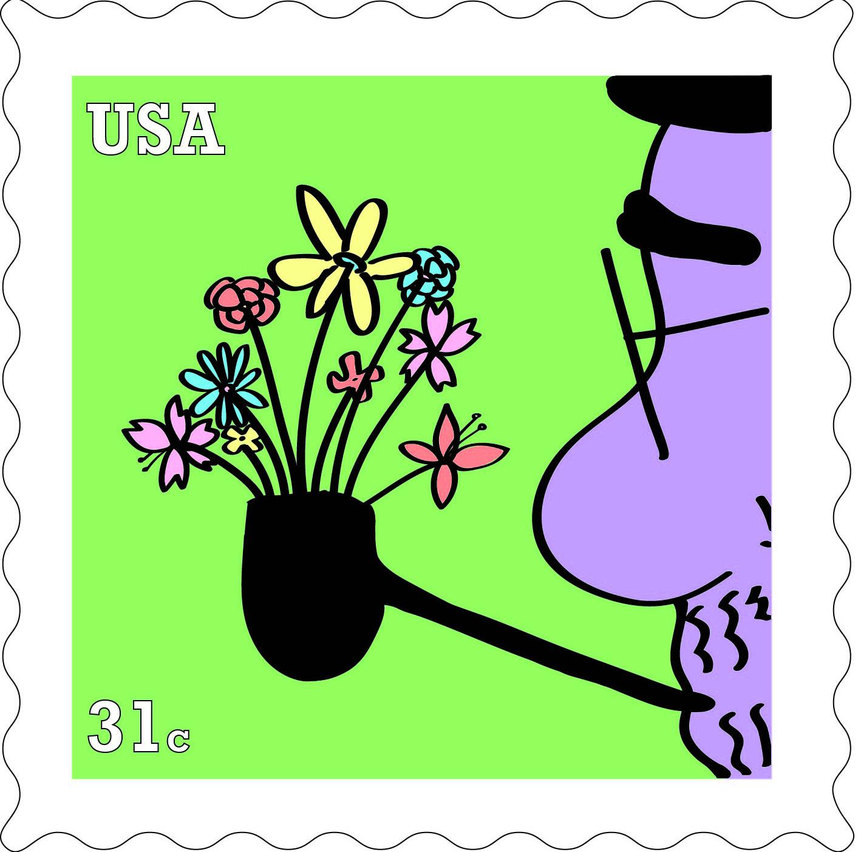 Designer's Postage Stamp