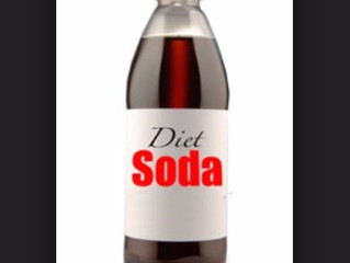 Yes, that means diet soda, too!