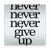 never give up BLK