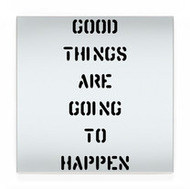 good things are going to happen BLK