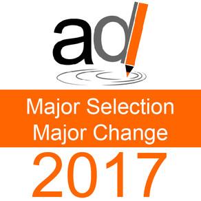 Major Selection 2017