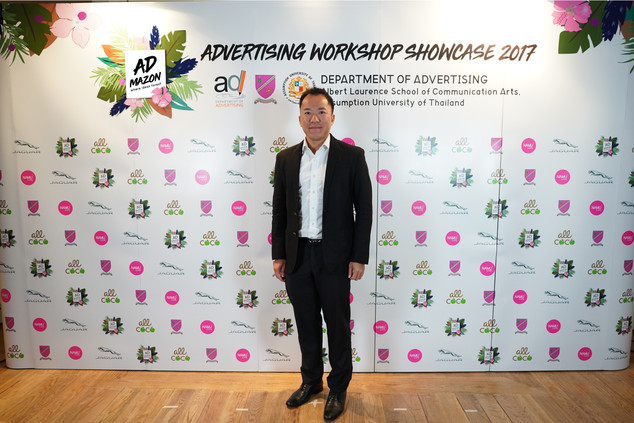 (K.Charnchai Mahantakhun, Managing Director of Inchcape (Thailand) Co., Ltd., the brand supporter from Jaguar)