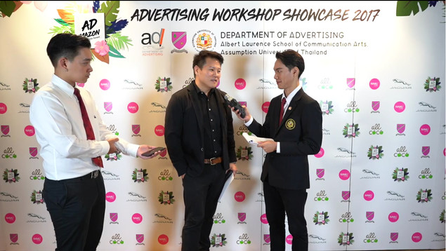 (K.Oliver Kittipong Veerataecha, the president of Y&R Thailand Company)