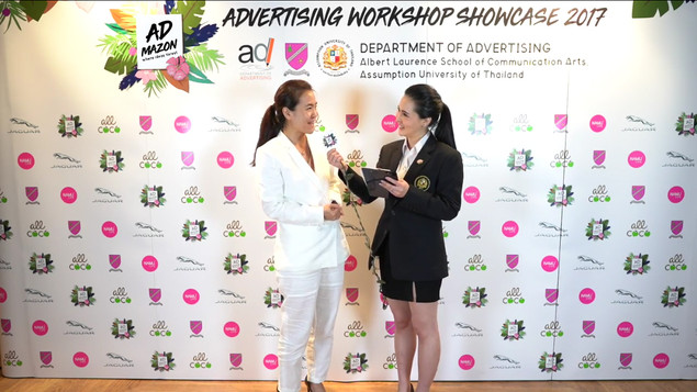 (K.Piyada Taratip, Marketing Manager of Do Day Dream Public Company Limited, the brand supporter from Namu Life)