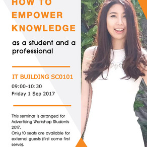 Come join us this Friday 1 September 2017