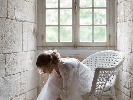 Mariée dans la Chambre nuptiale