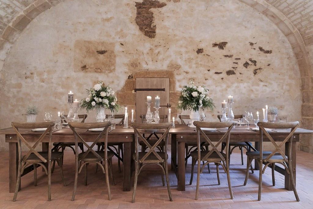 Table des mariés Ô Bonheur des Dames