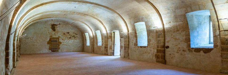 Chateau de la Citardiere salle des garde - salle de réception atypique