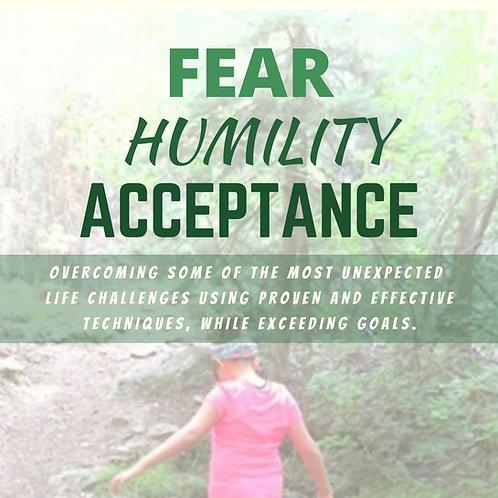 Fear Humility Acceptance PDF