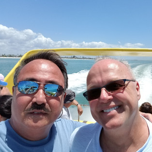 Steve Lykins and Kai Fowler of the Buckingham on the Water.