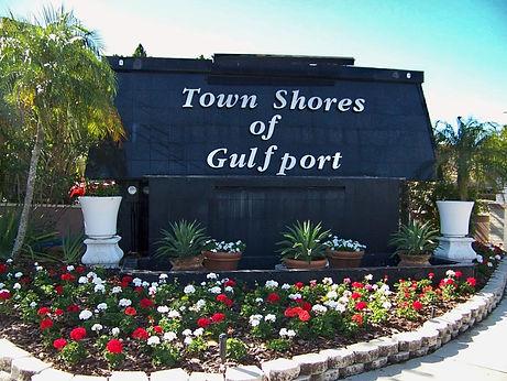 Town Shores Entrance