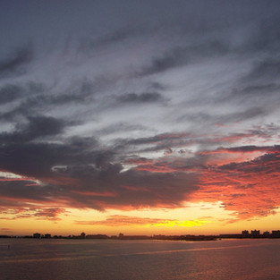 Irene Gernon says: This is the love of my life - sunsets from the Buckingham.