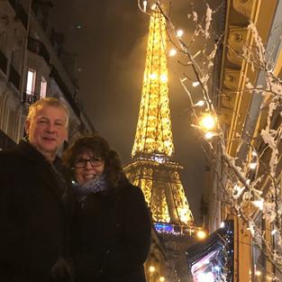 Bob Desmaris & Tina Berube/ Avalon, in Paris, the City of Love
