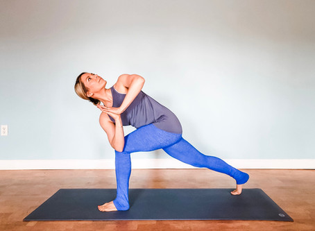YOGA FOR OPENING THE NECK AND UPPER BACK: A Fifth Chakra Flow