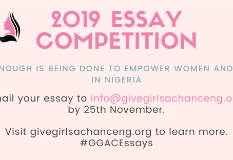 GGAC 2019 Essay Competition Now Open for Entries