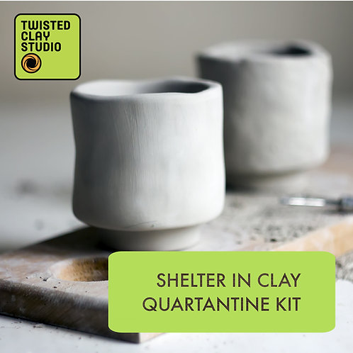 Shelter in Clay Quarantine Kit (Toolkit included)