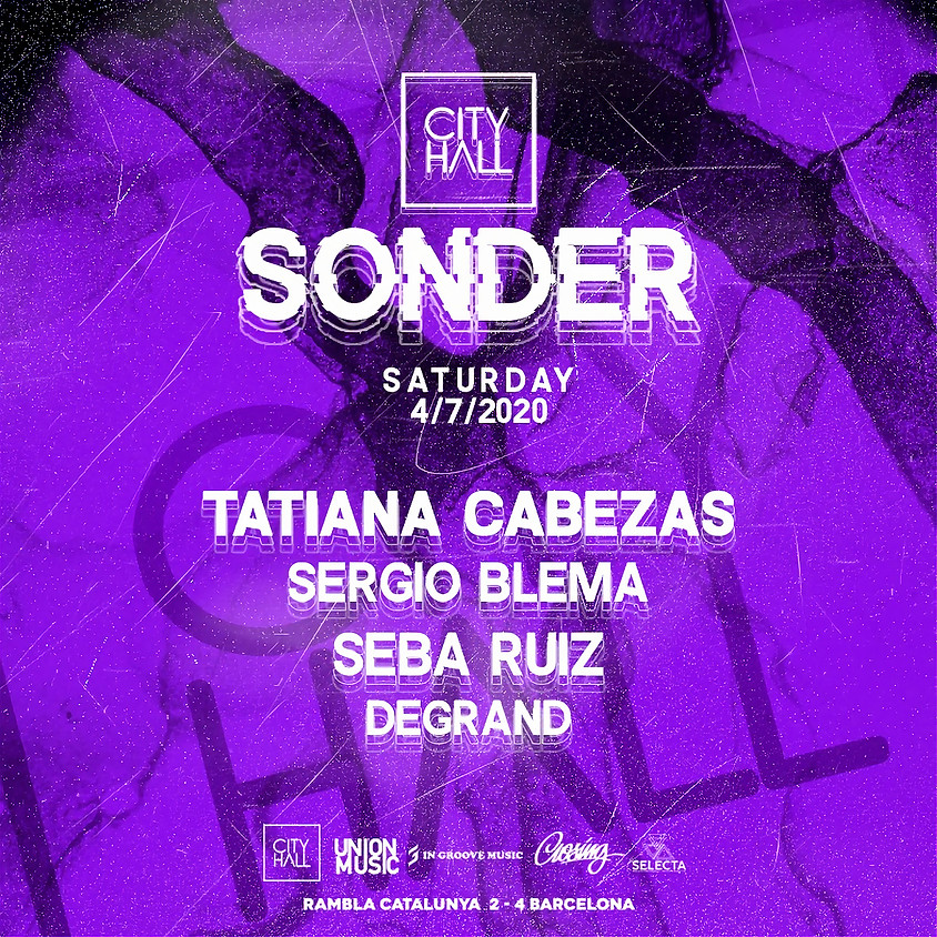 City Hall Saturday w/ Sonder