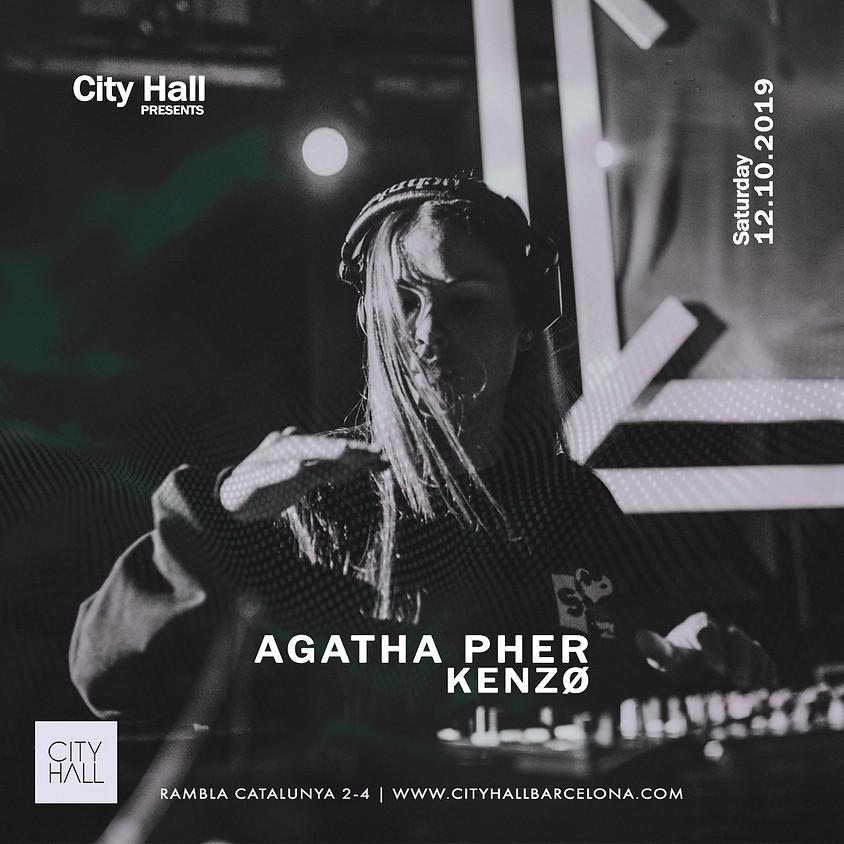 City Hall pres. Agatha Pher + Kenzø