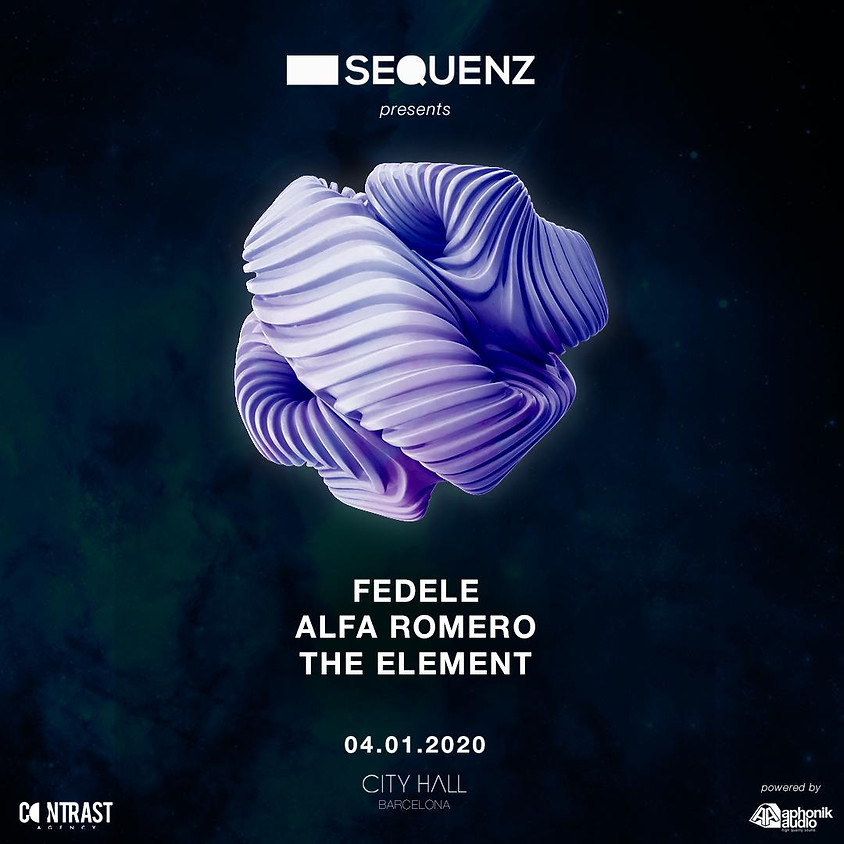 City Hall pres. Sequenz w/ Fedele - The Element - Alfa Romero