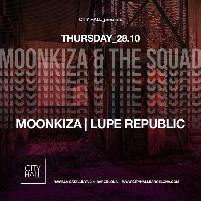 City Hall Thursday - Moonkiza & The Squad w/ Lupe Republic