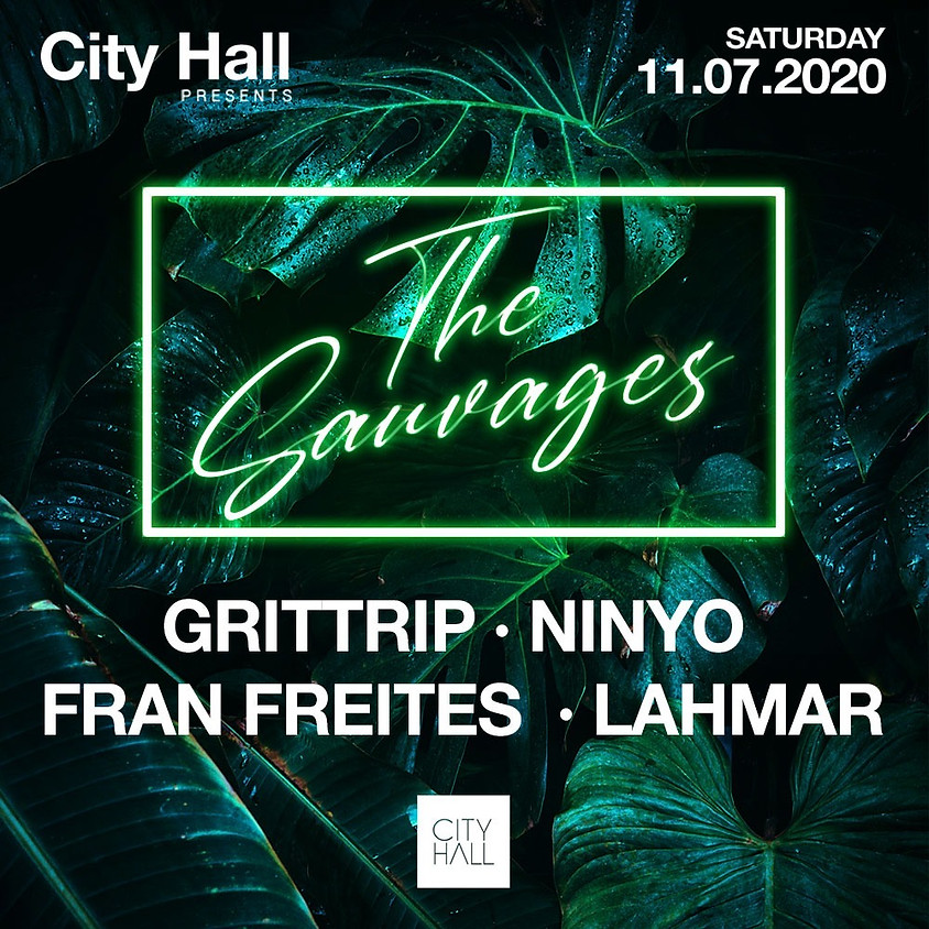 City Hall Saturday w/ THE SAUVAGES