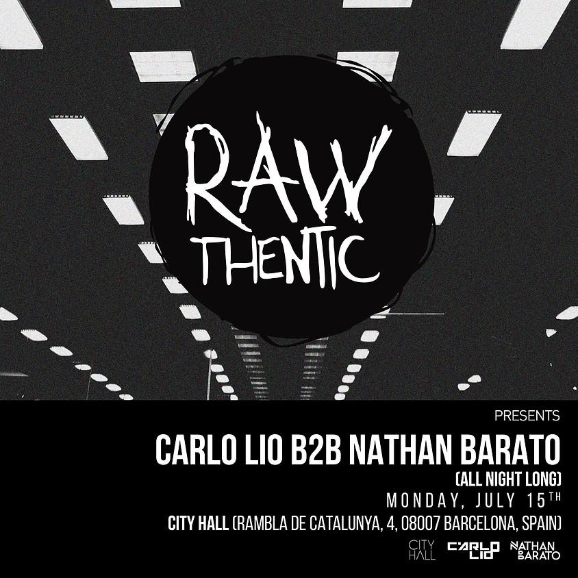 Off - City pres. Rawthentic Carlo Lio + Nathan Barato