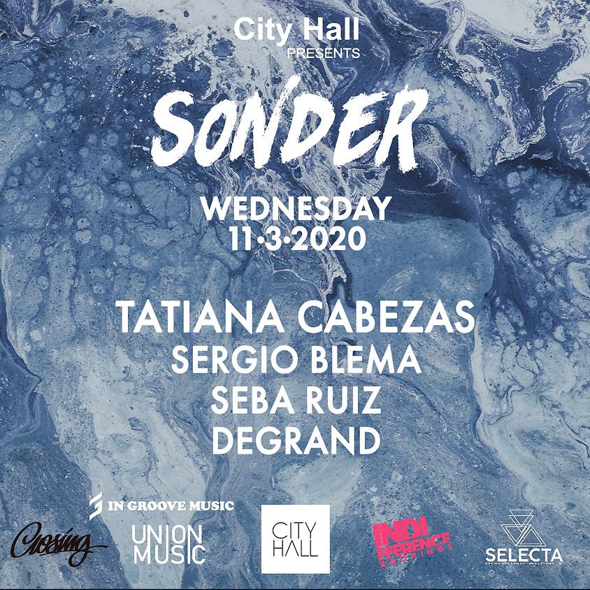 City Hall pres. Sonder