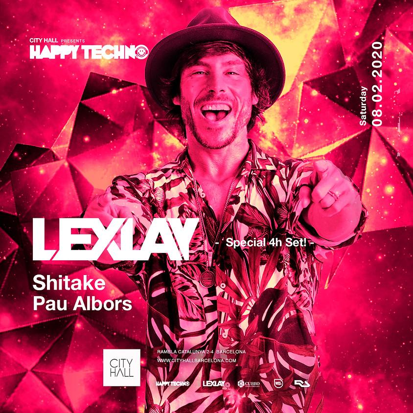 City Hall pres. LEXLAY  - Shitake - Pau Albors