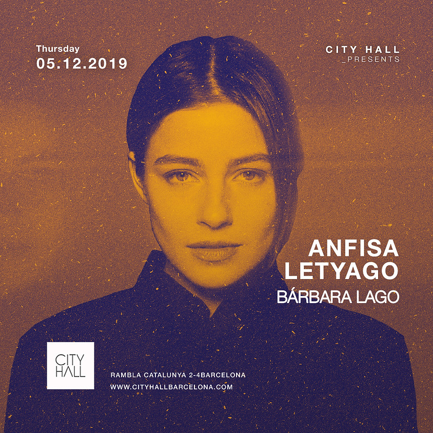 City Hall pres. Anfisa Letyago