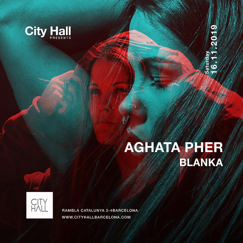 City Hall pres. Agatha Pher - Blanka