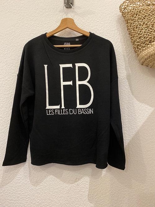 Sweat Loose noir LFB