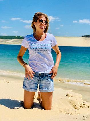 T-shirt «Arcachonnaise» turquoise