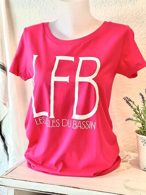 Tee-shirt LFB rose
