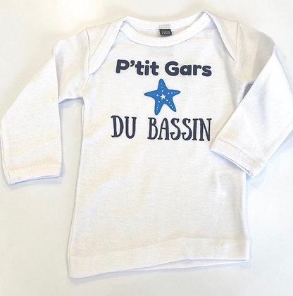 T-shirt BB p'tit gars du bassin