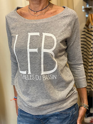 Sweat Tencel Gris