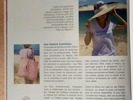 Retrouvez Les filles du Bassin dans le magazine Bouch'B numéro 38 / septembre-octobre 2019 !
