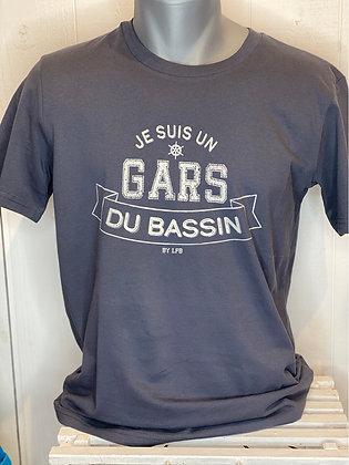 T-shirt gris «Je suis...»