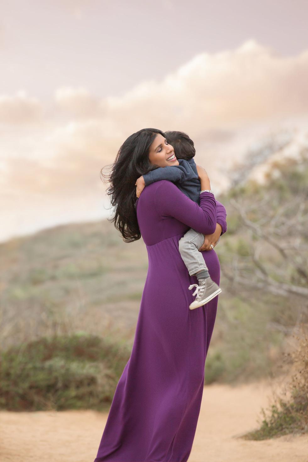 Roja Maternity   San Diego Family Photographer